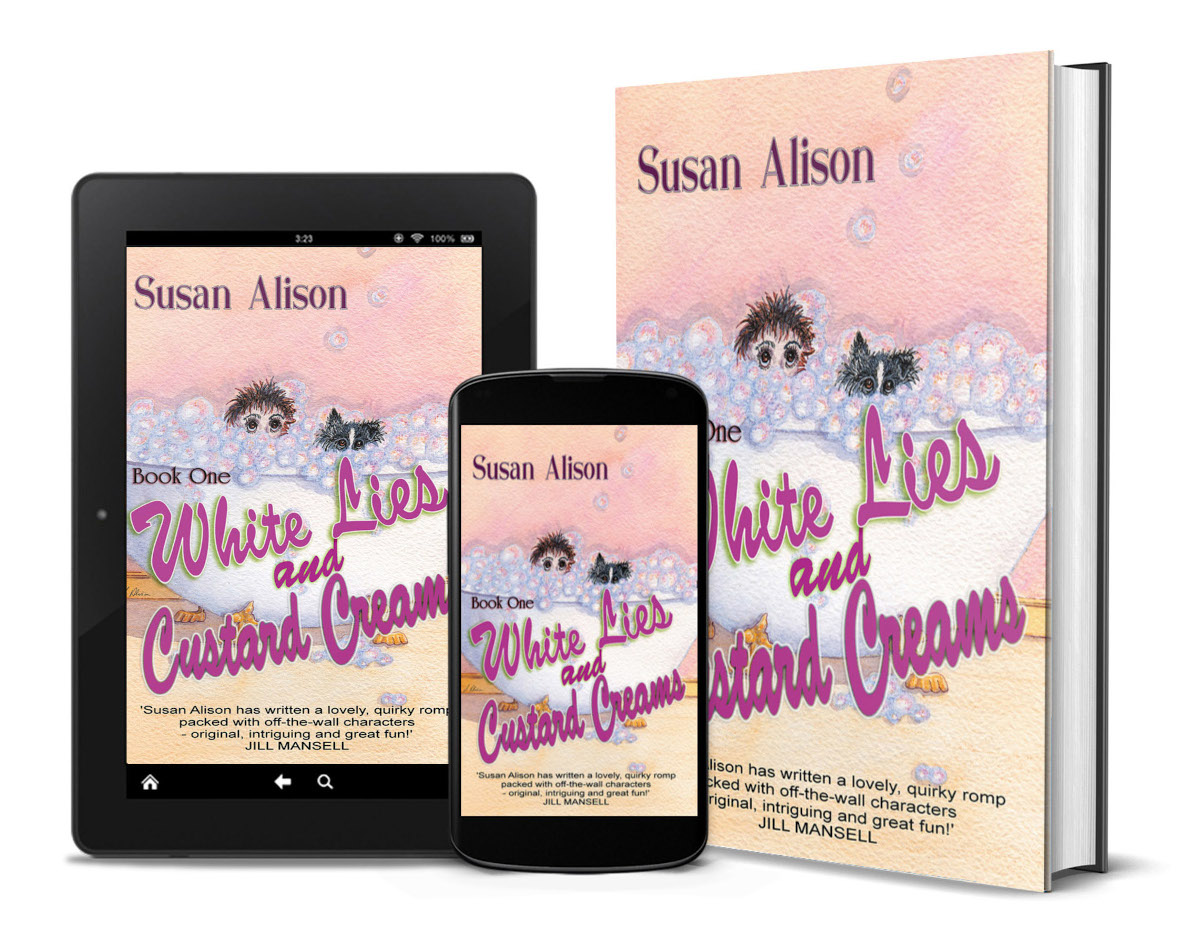 White Lies and Custard Creams - Kindle, Mobile & Paperback